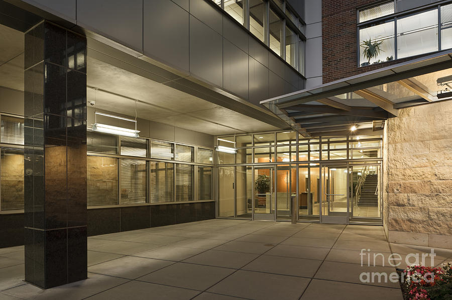 Business Office Building Entrance Photograph By Robert Pisano