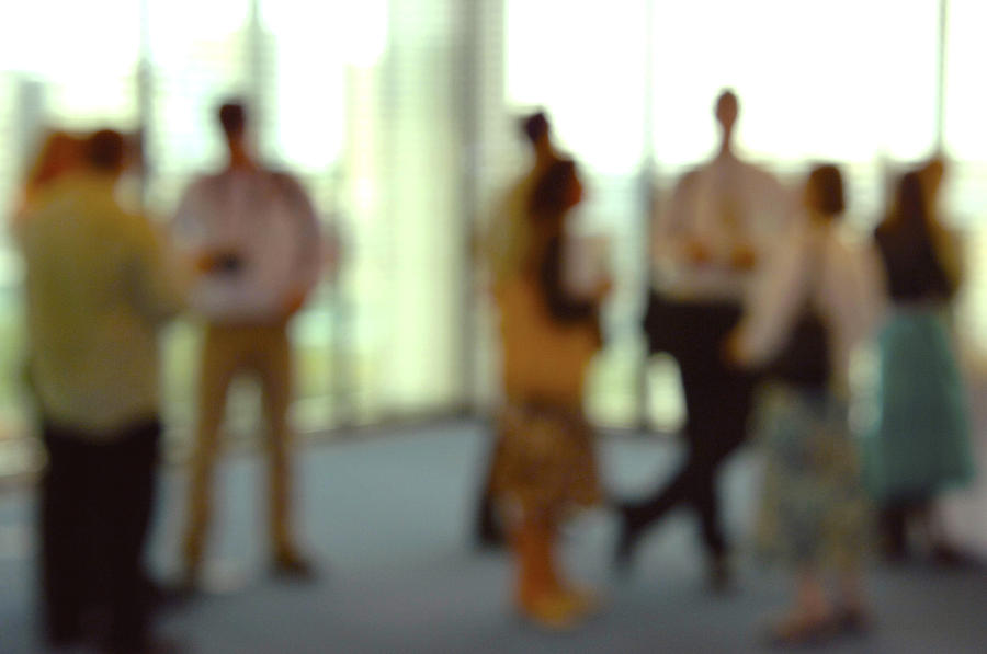 Human Photograph - Business People by Johnny Greig
