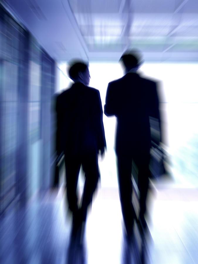 Human Photograph - Businessmen by Pasieka