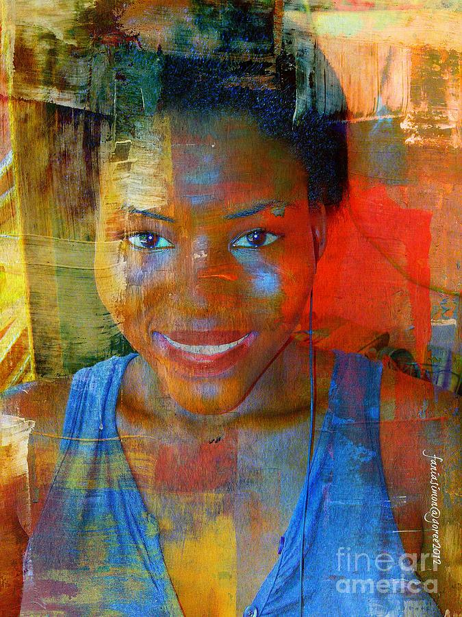 Mixed Media - But Still Blessed by Fania Simon