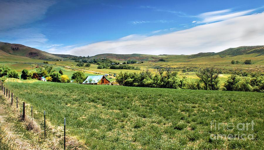 Idaho Photograph - Butte Ranch by Robert Bales