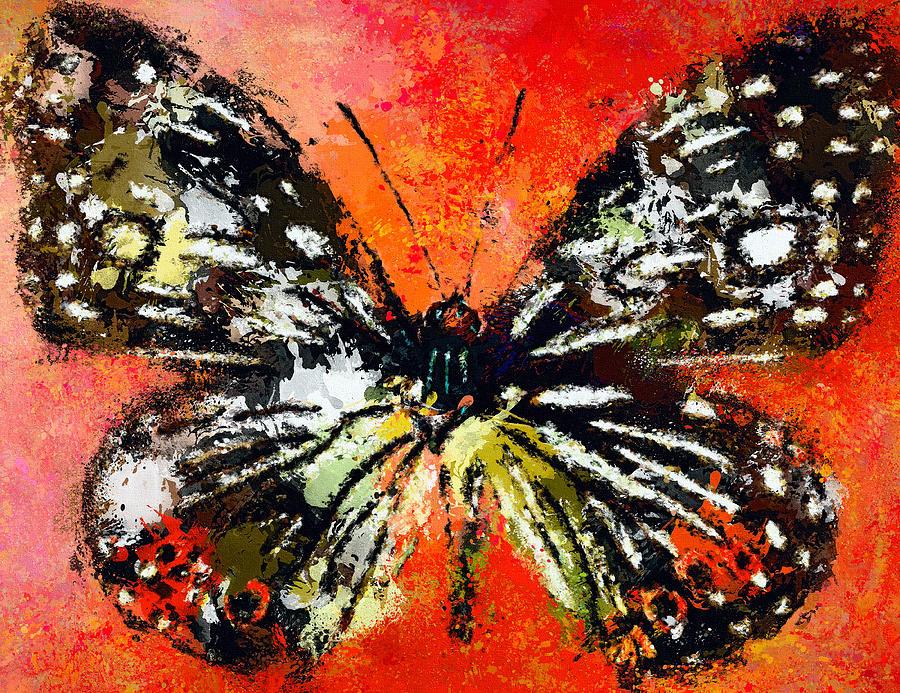 Butterfly Digital Art - Butterfly 3 by Yury Malkov