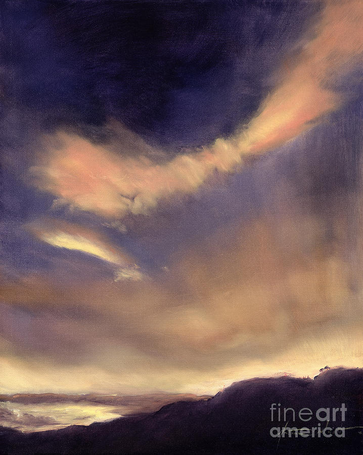 Clouds Painting - Butterfly Clouds by Antonia Myatt