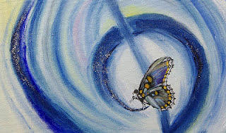 Butterfly Painting - Butterfly by Draia Coralia