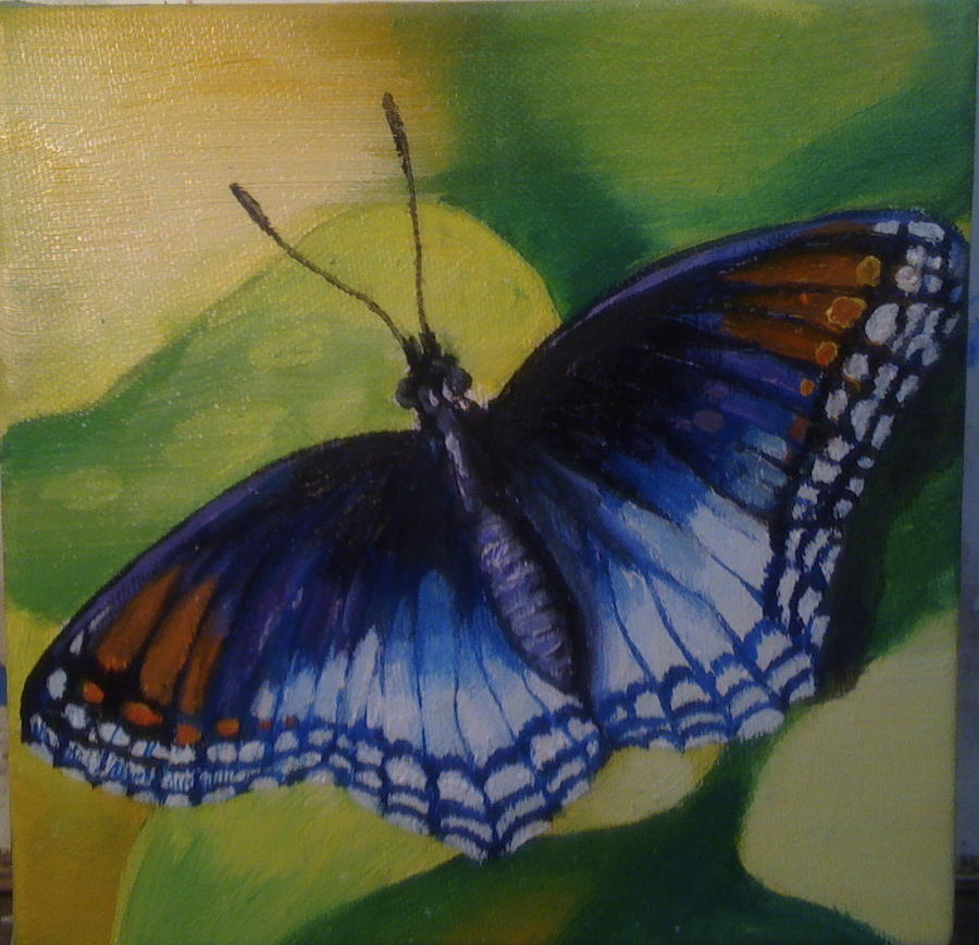 Butterfly Painting - Butterfly by Jeff Arcel