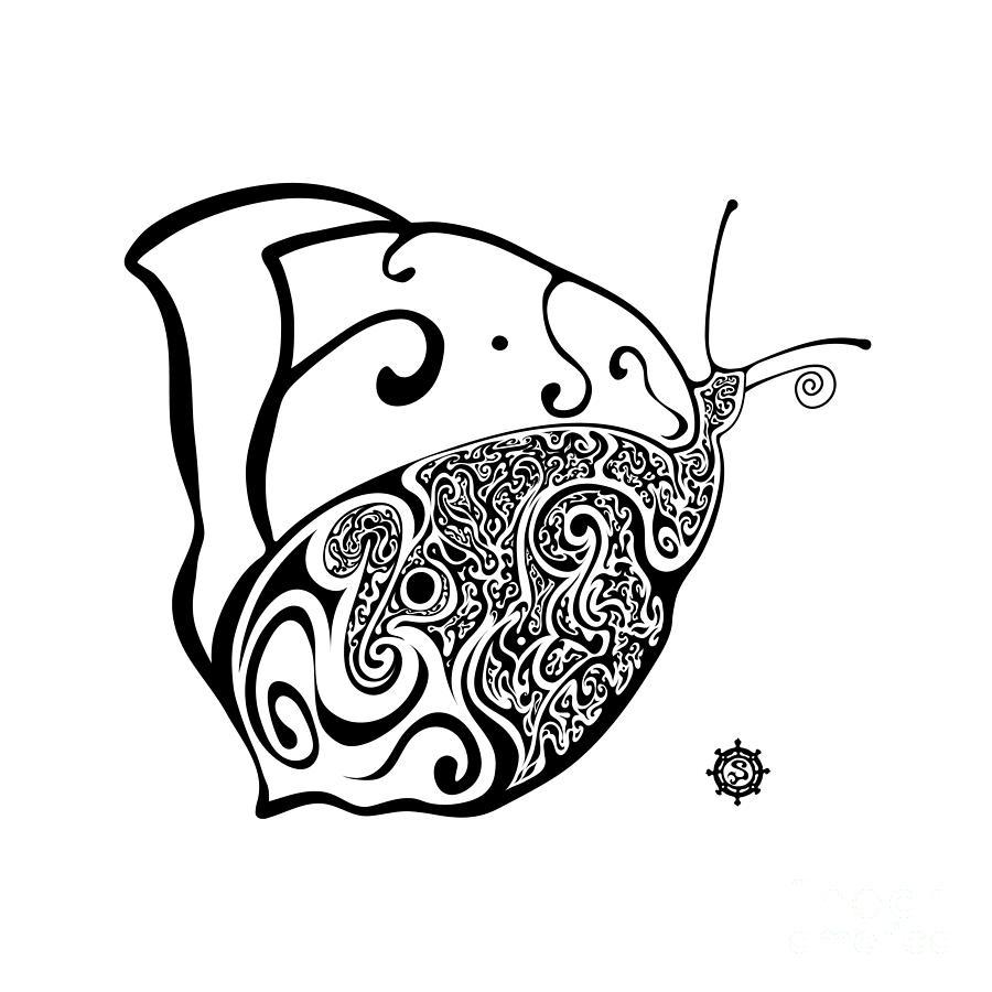 Butterfly Digital Art - Butterfly by Santi Goma Rodriguez