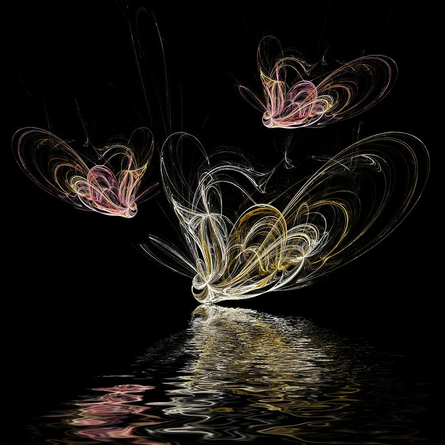 Spirits Digital Art - Butterfly Spirits by Sharon Lisa Clarke