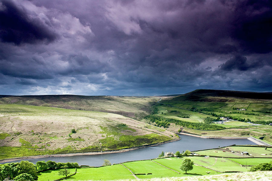 Horizontal Photograph - Butterley Reservoir by Andy Leader Www.madeinholmfirth.co.uk