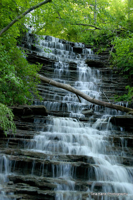 Ohio Photograph - Buttermilk Falls by Tina Karle