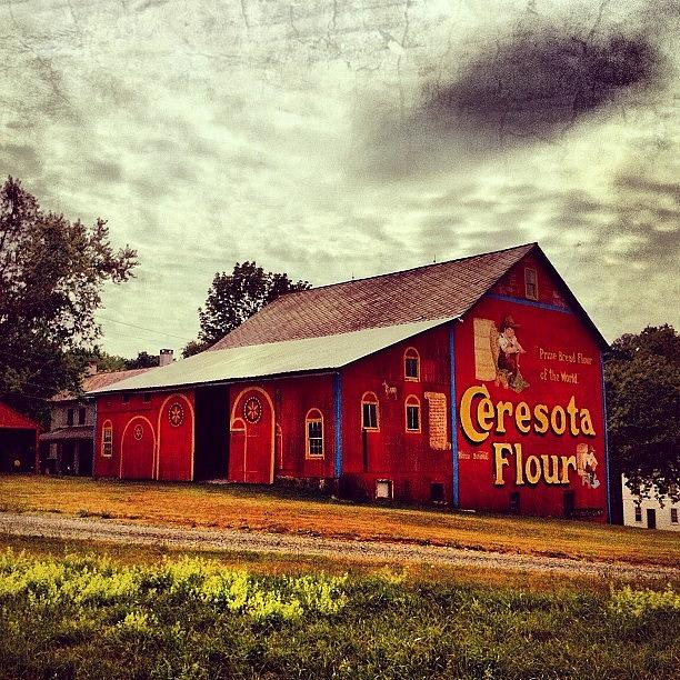 Beautiful Photograph - Buy Flour. #barn #pa #pennsylvania by Luke Kingma