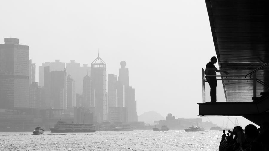 Cityscape Photograph - Bw City  by Kam Chuen Dung