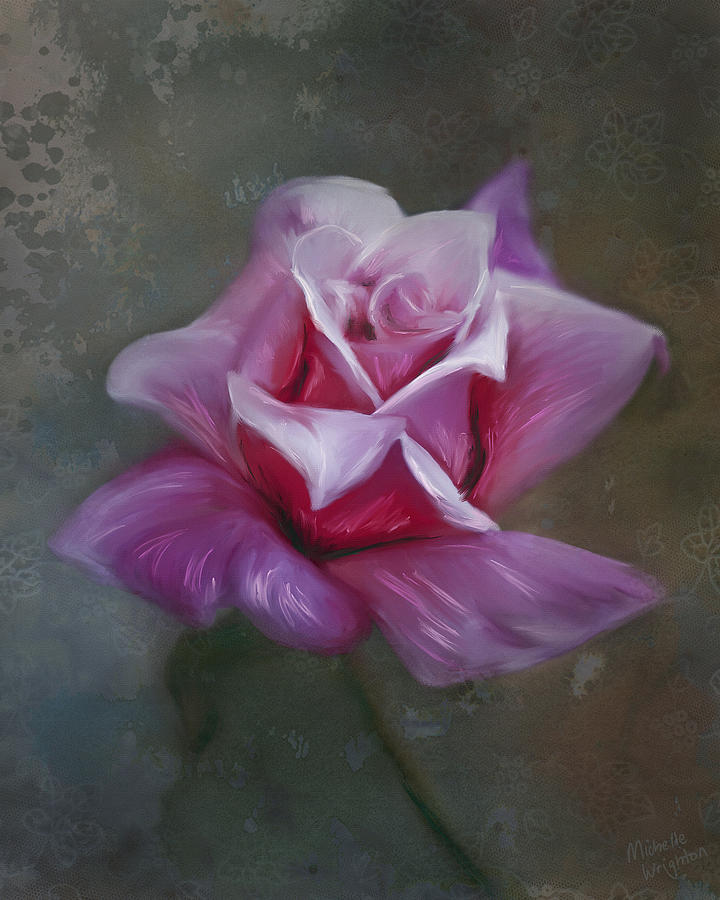 Rose Painting Painting - By Any Other Name by Michelle Wrighton