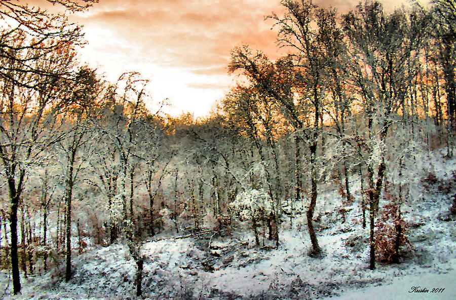 Snow Photograph - By Dawns Early Light by Kristin Elmquist