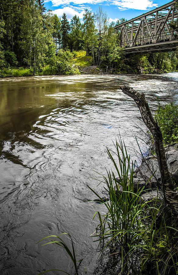 Bridges Photograph - By The River by Matti Ollikainen