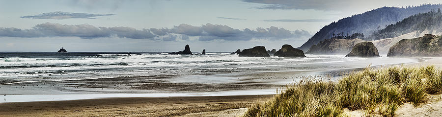 By Photograph - By The Sea - Seaside Oregon State  by James Heckt