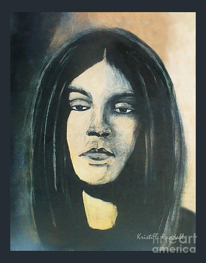 C. J. Ramone Painting - C. J. Ramone The Ramones Portrait by Kristi L Randall