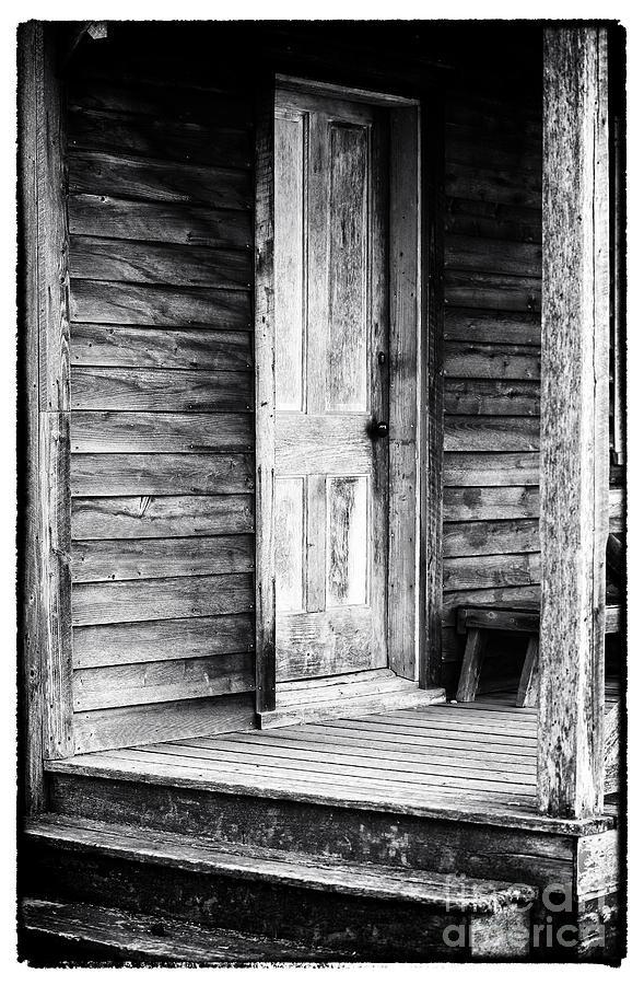 Cabin Door Photograph - Cabin Door by John Rizzuto