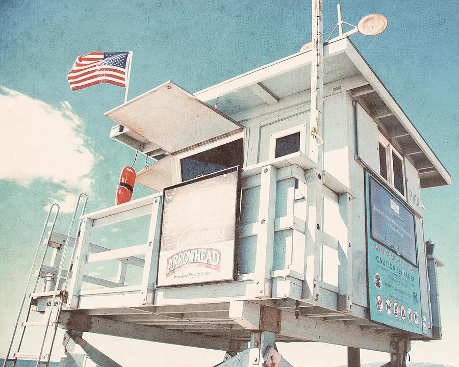 Venice Beach Photograph - The cabin by Nastasia Cook