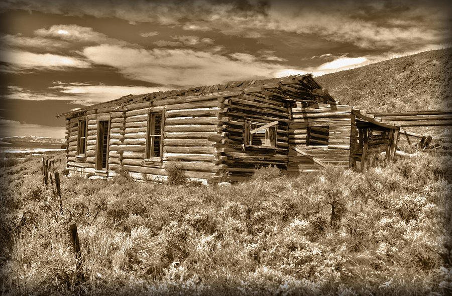 House Photograph - Cabin Fever by Shane Bechler