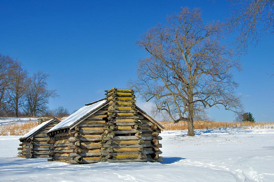 Valley Forge Photograph - Cabin by Gaetano Chieffo