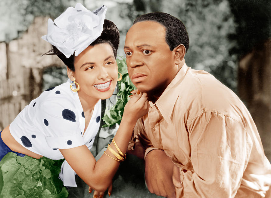 1940s Movies Photograph - Cabin In The Sky, From Left Lena Horne by Everett