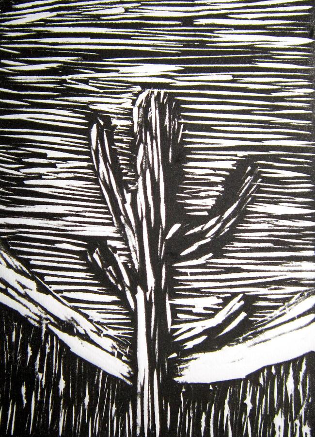 Cactus Relief - Cactus by Marita McVeigh