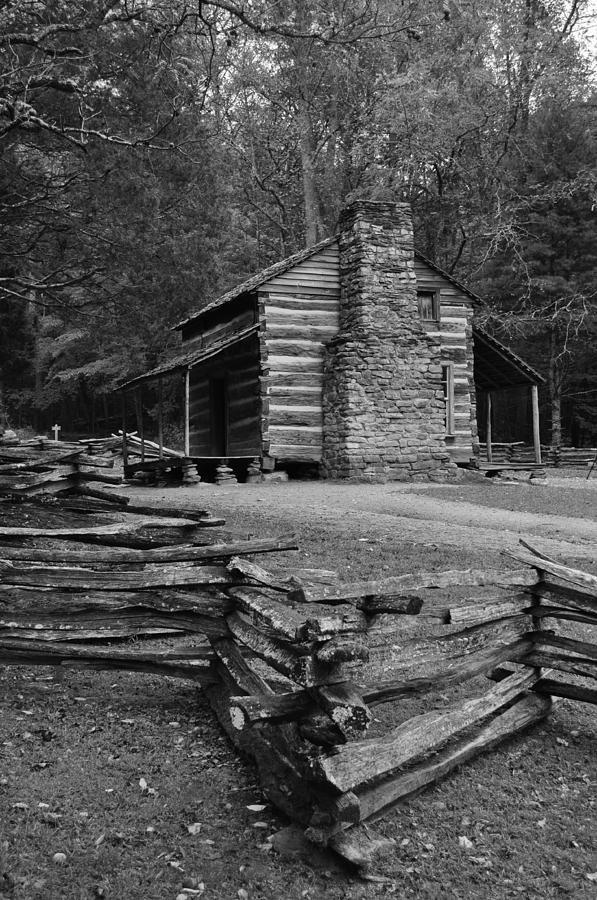 Cabin Photograph - Cades Cove Cabin by Jeff Moose