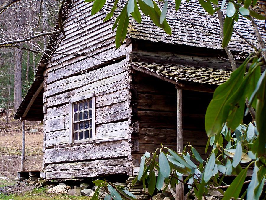 Appalachian Photograph - Cades Cove Cabin by Jim Finch