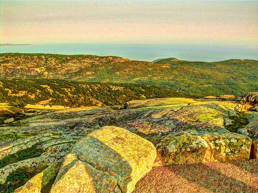 Cadillac Mountain by Frank SantAgata