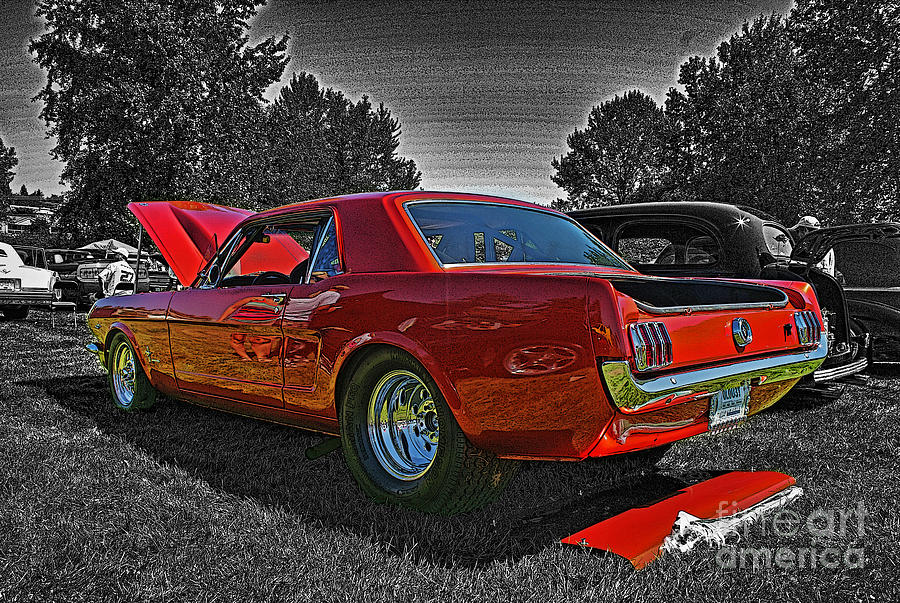 Cars Photograph - Cadp0710-12 by Randy Harris