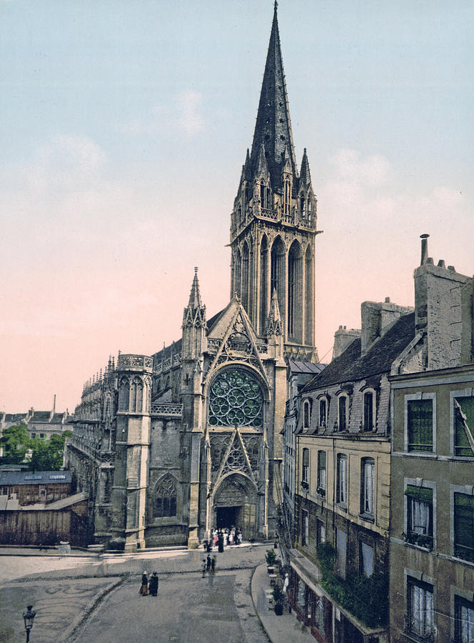 Caen - France - St. Pierre Church Photograph by ...