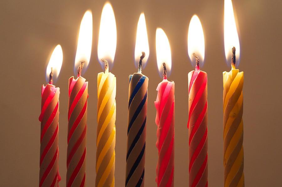 Cake Candles Photograph By Jojo Sardez