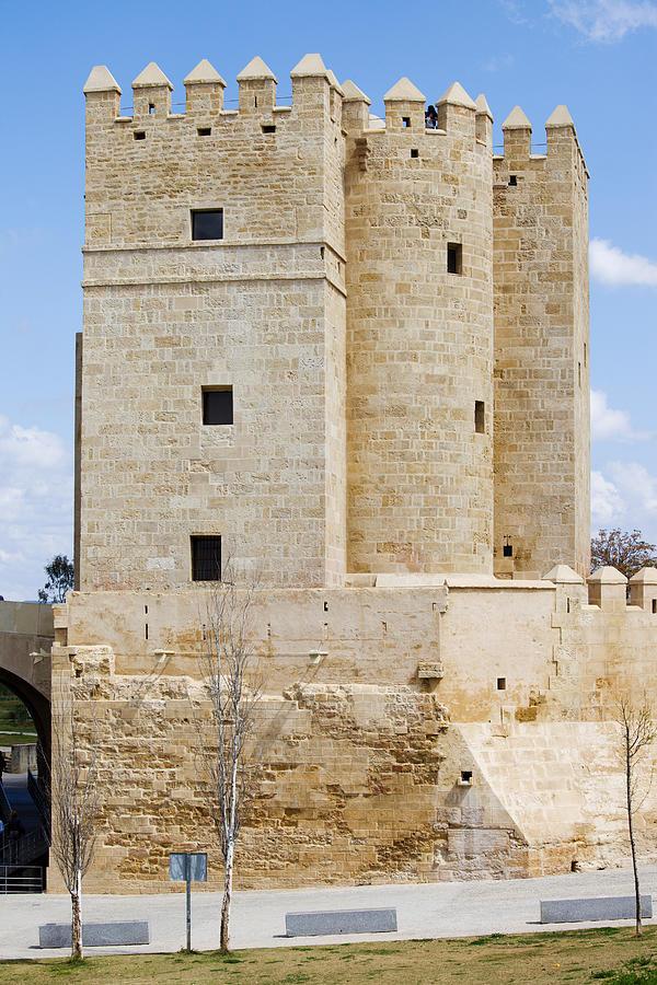 Cordoba Photograph - Calahorra Tower In Cordoba by Artur Bogacki