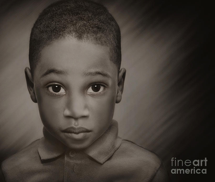 Children Photograph - Caleb by Pat Abbott