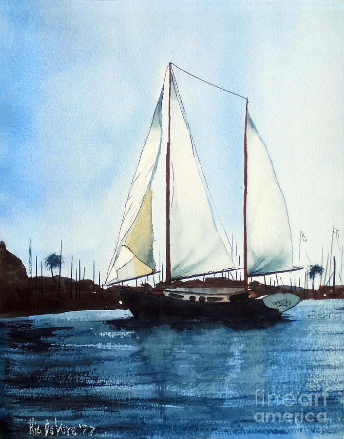 Blue Sky Painting - California Dreamin IIi by Kip DeVore
