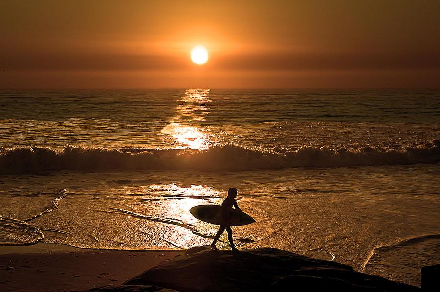Sunsets Photograph - California Dreaming by Edward Printz