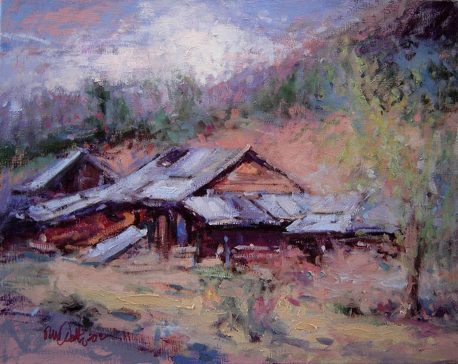 California Painting - California Ghost Town by R W Goetting