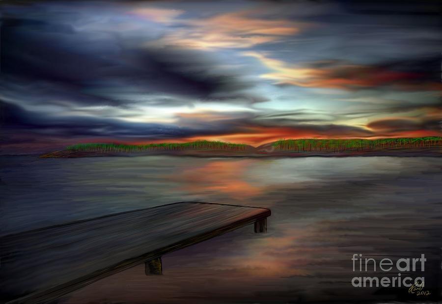 California Sky by Rand Herron