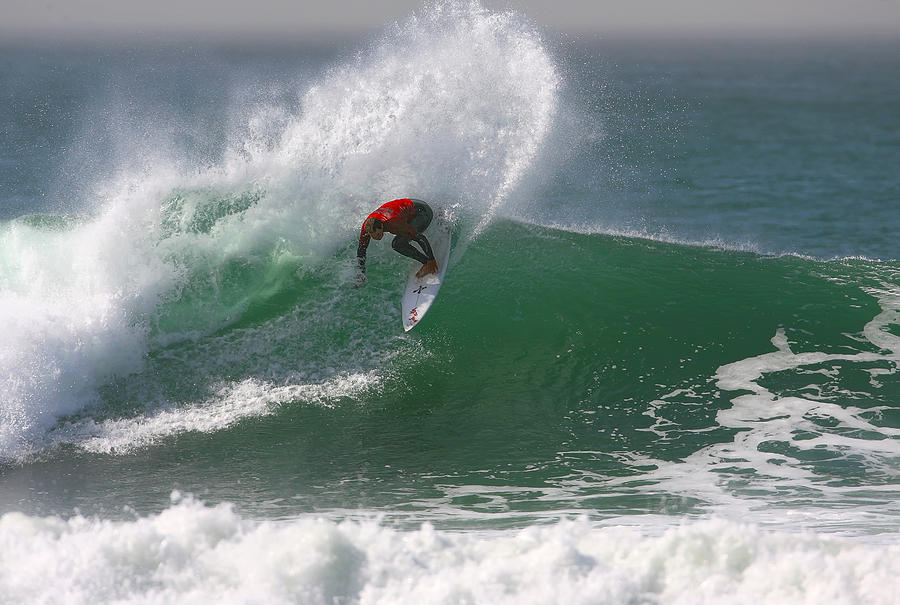 Surf Photograph - California Surfing 3 by Larry Marshall