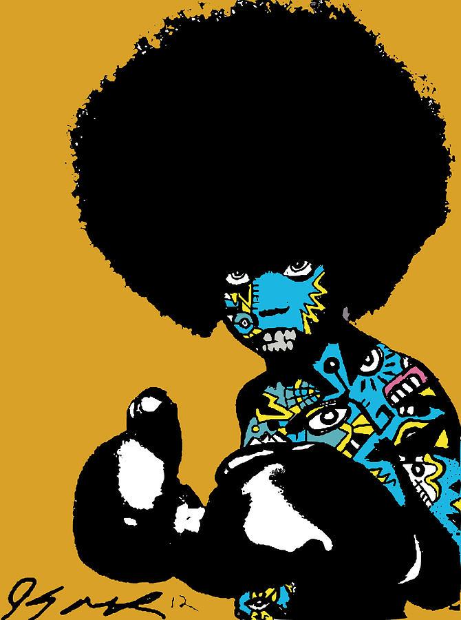 Boxer Digital Art - Call Of The Child Full Color by Kamoni Khem