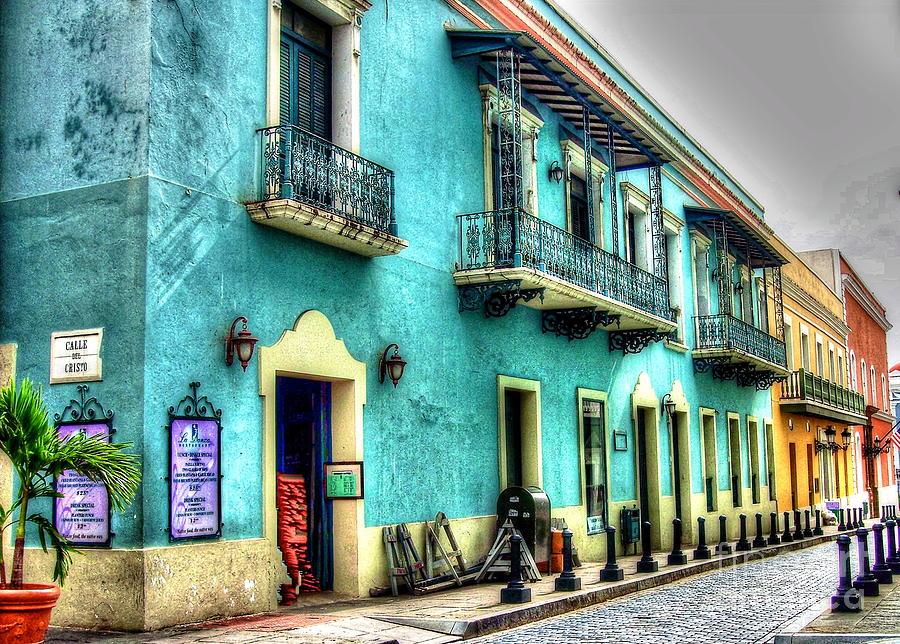 San Juan Photograph - Calle Cristo by Debbi Granruth