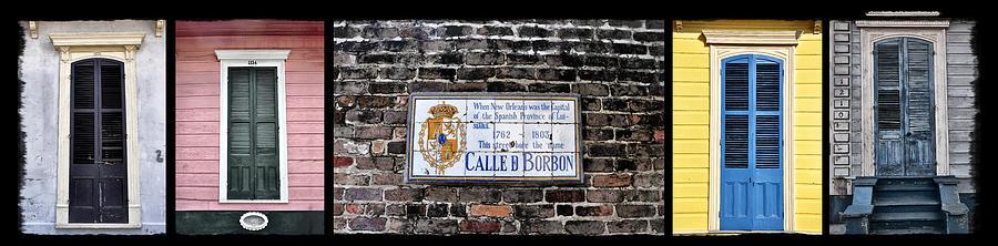 Bourbon Street Photograph - Calle D Borbon by Bill Cannon