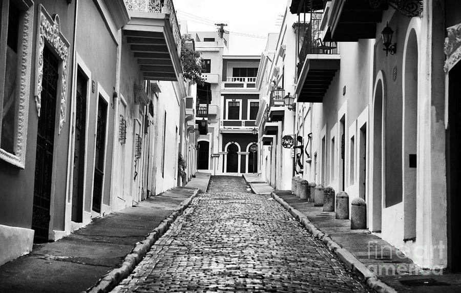 Calle De Guijarro Photograph - Calle De Guijarro by John Rizzuto
