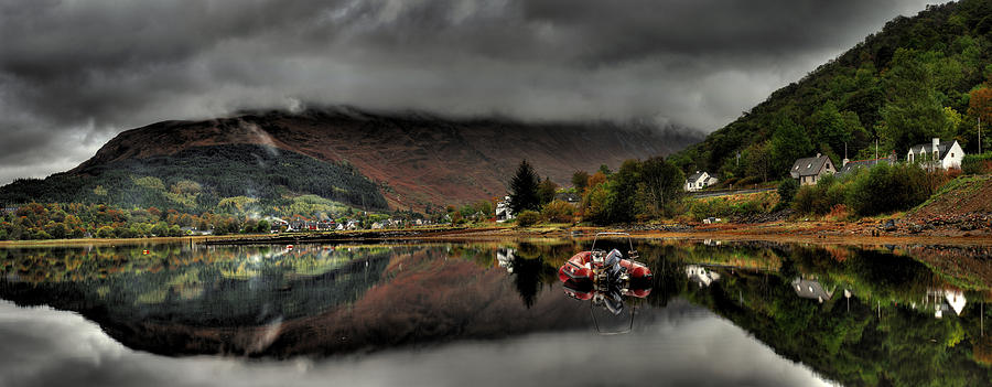 Scotland Photograph - Calm Before The Storm by John Chivers