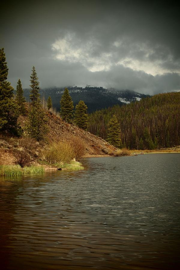 Mountain Photograph - Calm Before The Storm by Joyce Specht