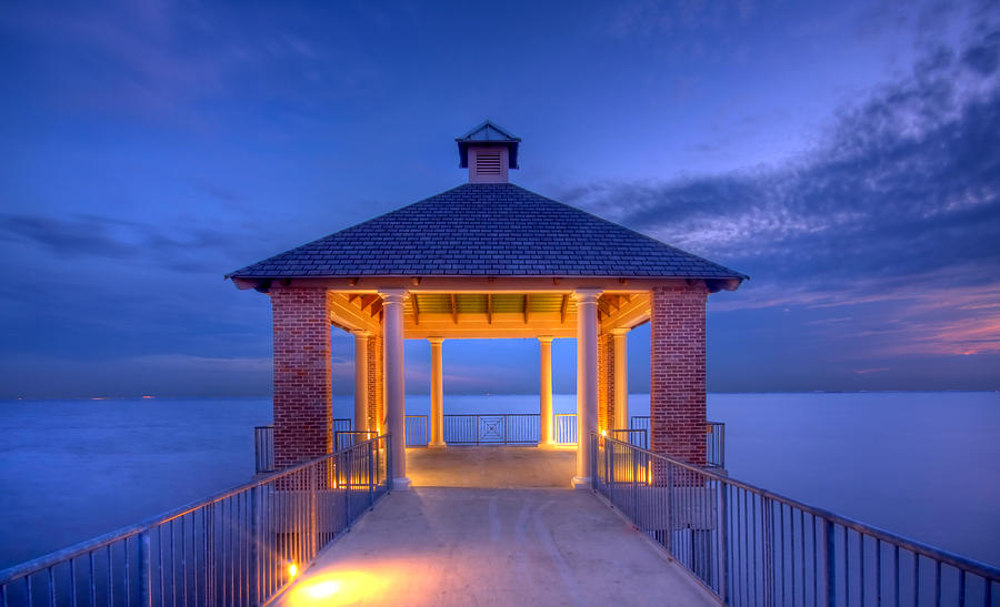 State Park Photograph - Calm Evening by Pixel Perfect by Michael Moore