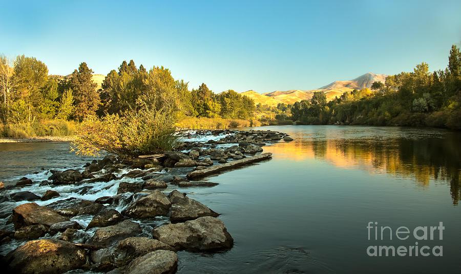 Idaho Photograph - Calm Payette by Robert Bales