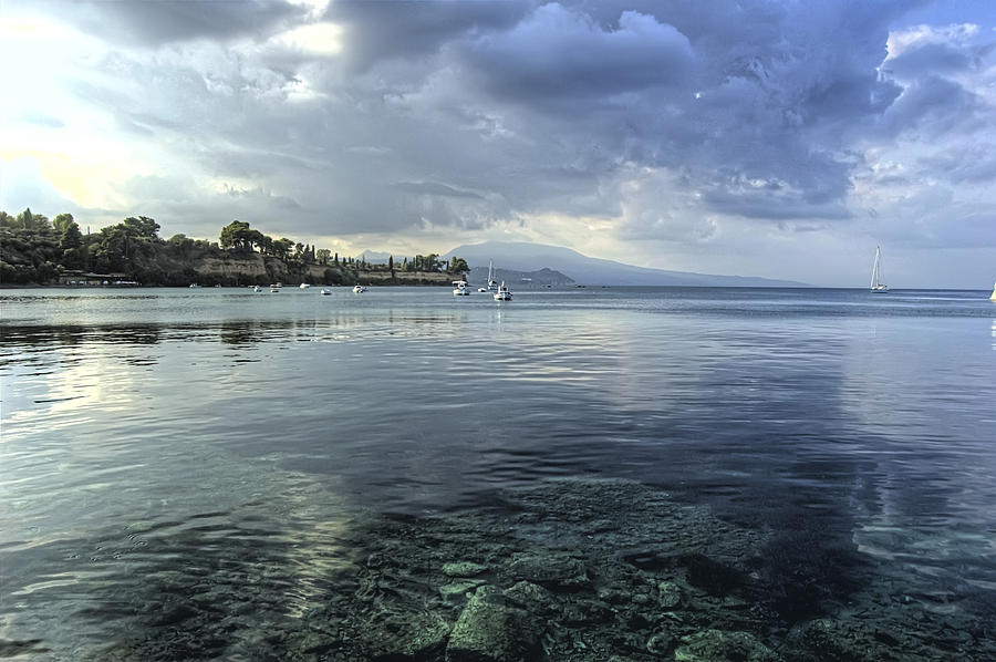 Greece Photograph - Calm Waters by Stamatis Gr