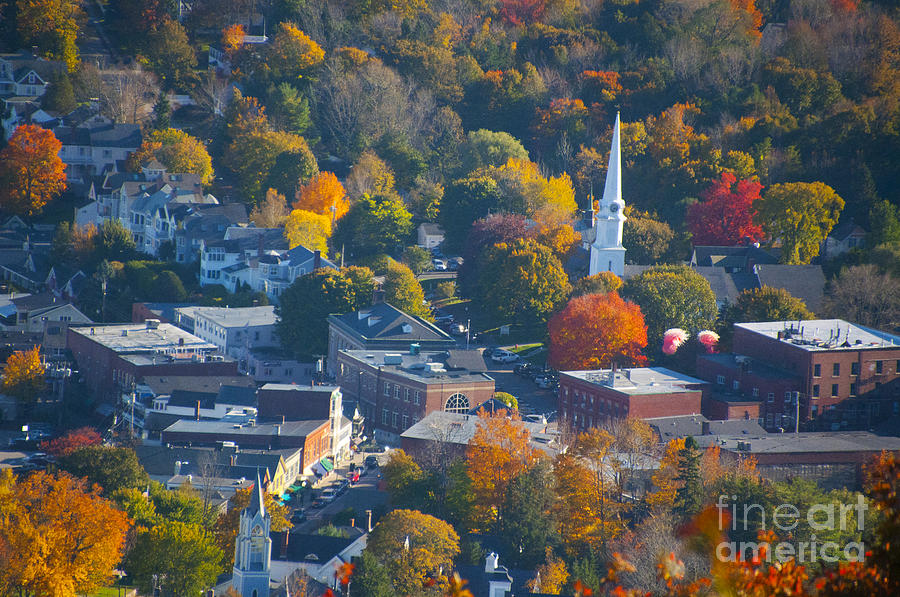 Camden Maine Photograph - Camden Colors by Charles  Ridgway