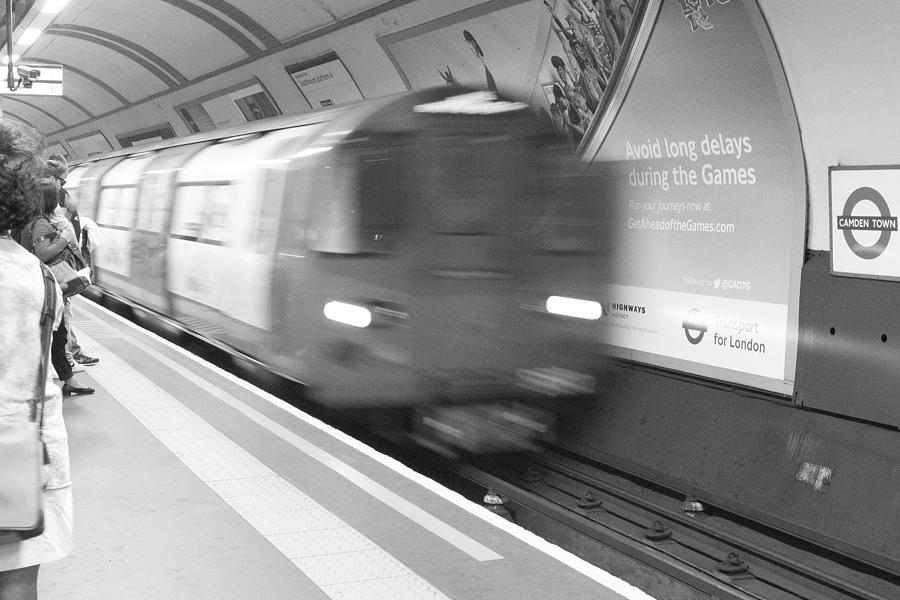 Camden Photograph - Camden Tube by Kevin Bates